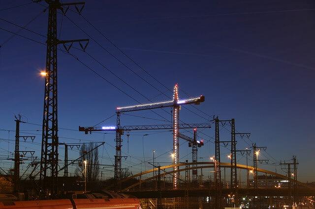 jak efektywnie oświetlić plac budowy?