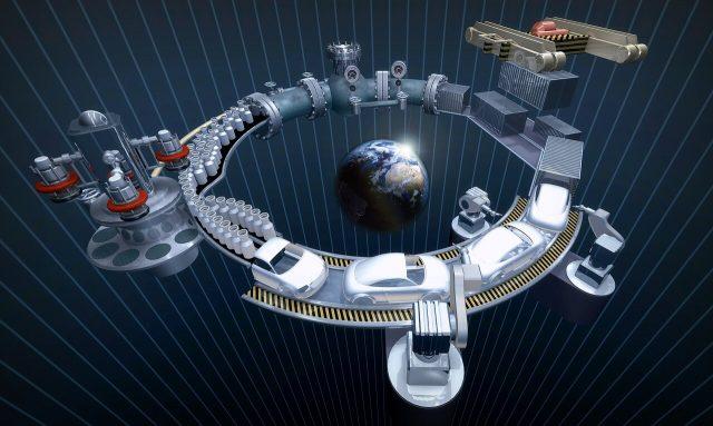 zasada działania smart fabryki